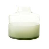 透明花器草綠16cm
