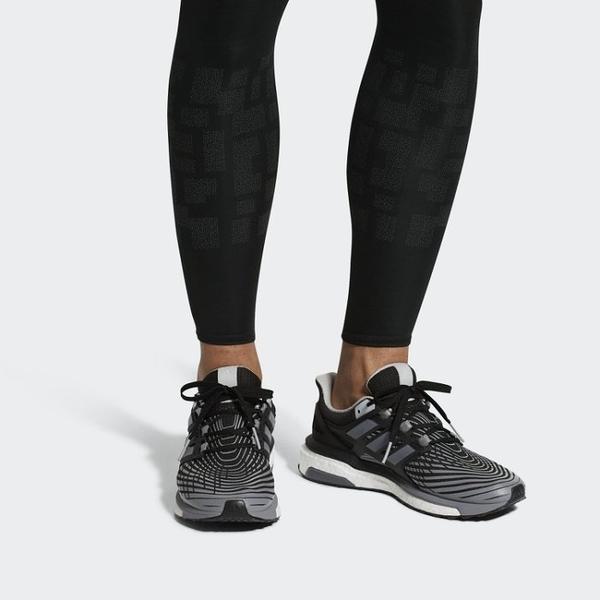 ISNEAKERS ADIDAS ENERGY BOOST SHOES 黑灰 馬牌底 運動 訓練 慢跑鞋 CP9541