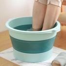 可折疊泡腳桶塑膠洗腳盆家用足浴盆便攜式過小腿按摩洗 【母親節禮物】