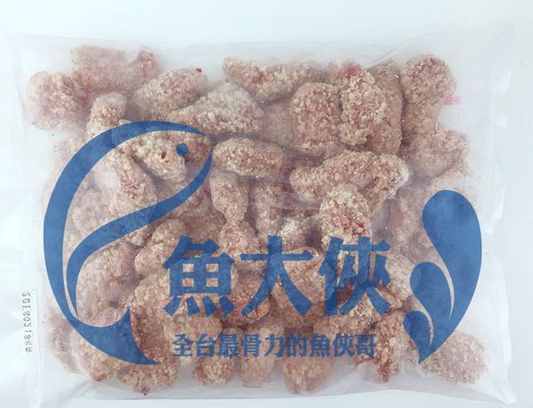 1H3A【魚大俠】FF107紅麴魚塊(約50-60塊/1KG/包)