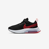 Nike Air Zoom Arcadia (PSV) 中童 黑紅 魔鬼氈 氣墊 休閒 慢跑鞋 CK0714-003