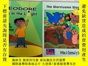 二手書博民逛書店the罕見worrisome worm+theodore wal