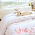 【名流寢飾家居館】英威達Quallofil精品七孔被.加量型.3D立體設計.雙人尺寸.全程臺灣製造