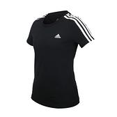 ADIDAS 女短袖T恤(慢跑 純棉 亞規 上衣 愛迪達 免運 ≡排汗專家≡
