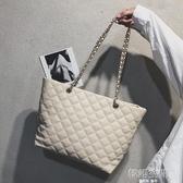 大包包女2020新款潮韓版百搭斜挎單肩包手提購物袋時尚休閒托特包
