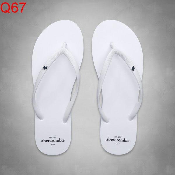 AF Abercrombie & Fitch A&F A & F KIDS 女 小孩款 當季最新現貨 海灘鞋 小a Q67