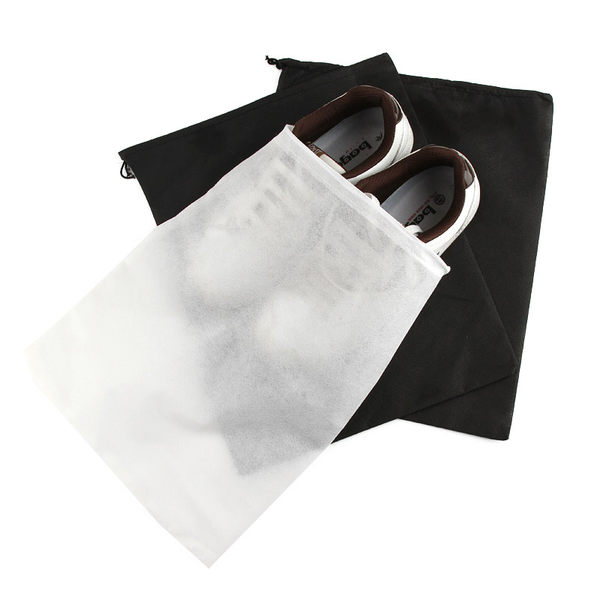 【TT158】無紡布裝鞋子的袋子收納袋旅行收納包抽繩束口袋防塵袋鞋袋