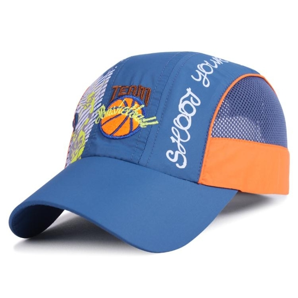 兩頭門春夏季戶外運動棒球帽男女兒童帽子速干透氣網帽防曬太陽帽 時尚芭莎