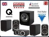 『盛昱音響』英國 Q Acoustics 3020i + 3090Ci + 3020i + WH-D10 家庭劇院喇叭組 - 現貨可視聽