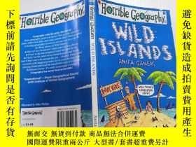 二手書博民逛書店Wild罕見Islands 野島Y212829