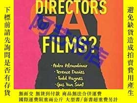 二手書博民逛書店Gay罕見Directors, Gay Films?: Pedr