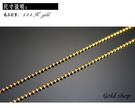 gold 義大利 585 黃K金 項鍊 長度40公分 [ kn 032 ]-0.92.
