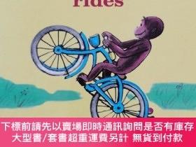 二手書博民逛書店Curious罕見George Rides(Board Book) 好奇的喬治系列Y463702 Margre