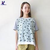 【早秋新品】American Bluedeer - 彎條紋寬鬆上衣(特價) 秋冬新款