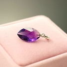 【喨喨飾品】紫水晶墜飾  色深通透,神秘而浪漫S281