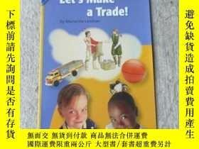 二手書博民逛書店Let s罕見Make a Trade!(Social Stud