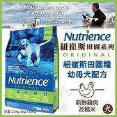 *WANG*美國Nutrience紐崔斯《田園糧-幼母犬(雞肉+蔬果)》13.6公斤