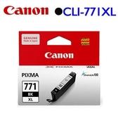 Canon CLI-771BK XL原廠高容量墨水匣 (相片黑)