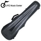 ★JYC Music★JV-1003黑色格點小提琴三角硬盒~4/4(輕量級複合材料)僅重1.69kg 限量