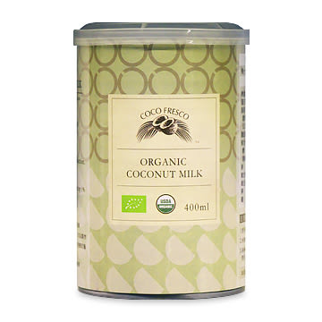 有機椰奶 COCO FRESCO 斯里蘭卡 400ml/罐