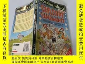 二手書博民逛書店Horrible罕見science : Explosive experiments:恐怖科學:爆炸實驗.Y20
