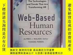 二手書博民逛書店英文原版罕見Web-Based Human Resources