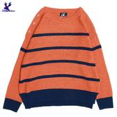 【三折特賣】American Bluedeer - 撞色條紋針織上衣(魅力價)  秋冬新款