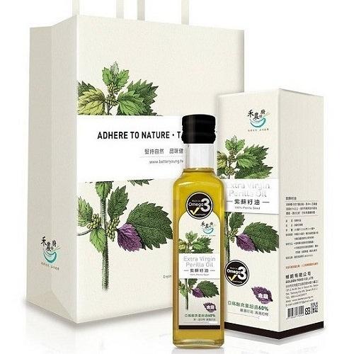 禾農 紫蘇籽油(紫蘇油) 300ml/瓶