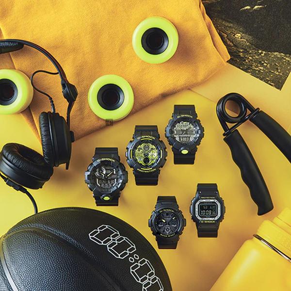 CASIO 卡西歐 G-SHOCK 迷彩LED雙顯錶(GA-700DC-1A)