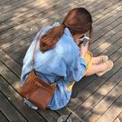 包包女新款潮韓版學生百搭斜挎單肩包復古小方包簡約斜跨小包