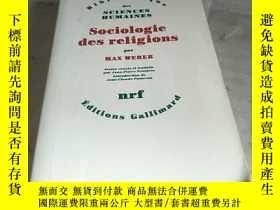 二手書博民逛書店Sociologie罕見des religions par MAX WEBERY156452 見圖 見圖 出