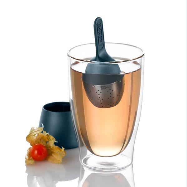 德國AdHoc 2014新款造型漂浮濾茶器 午茶時光 泡茶 品茗配件 不鏽鋼 好生活