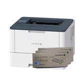 FujiXerox DocuPrint P375d 黑白雷射印表機 搭三支CT203108原廠碳粉匣