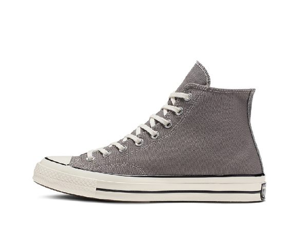 CONVERSE-灰色高筒帆布鞋-NO.164946C