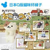 Norns【日本Q版可愛貓咪杯緣子】PUTITTO公仔 盒玩 杯緣裝飾KADOKAWA