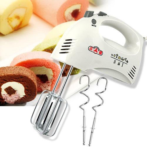 【電動攪拌器】三箭牌 打蛋器 打麵粉 攪拌機 電動奶泡器 廚房用品 攪拌棒 HM250 [百貨通]