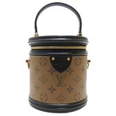 LOUIS VUITTON LV 路易威登 Cannes復古造型手提肩背水桶化妝箱 M43986 【二手名牌BRAND OFF】