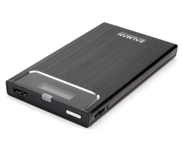 【台中平價鋪】全新 ZALMAN ZM-VE300 硬碟外接盒 黑 2.5吋 USB3.0 虛擬磁碟 可做為開機裝置