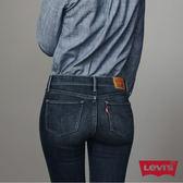 [買1送1]Levis 女款 710 中腰超緊身窄管 / 超彈力牛仔長褲 / 延續款