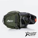 【PolarStar】健行水壺腰包『軍綠』P20806 露營.戶外.旅遊.自助旅行.多隔間.腰包.休閒包.側背包
