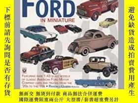 二手書博民逛書店Ford罕見in Miniature (damaged)-微型福特(損壞)Y414958 出版2020