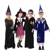 萬圣節裝扮兒童女巫婆師哈利波特演出衣服飾派對Cosplay裝扮服裝