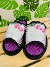 【震撼精品百貨】凱蒂貓_Hello Kitty~日本SANRIO三麗鷗 室內按摩拖鞋-蝴蝶結/黑色(尺寸M~L)#41596/41597