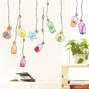 ►壁貼 瓶 客廳臥室餐廳裝飾貼紙 牆貼畫可移除牆貼紙【A3011】