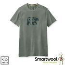 【SmartWool 美國 男 Merino Sport 150  野營與熊T恤《鼠尾草綠》】SW015158/排汗衣/ 機能衣