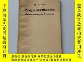 二手書博民逛書店Propeller罕見theory【螺旋槳理論】德語Y22264 W.H.Lsay springer-veri