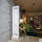 現代簡約中式傢俱屏風時尚隔斷客廳座屏鏤空玄關年年有餘臥室書房 現貨快出