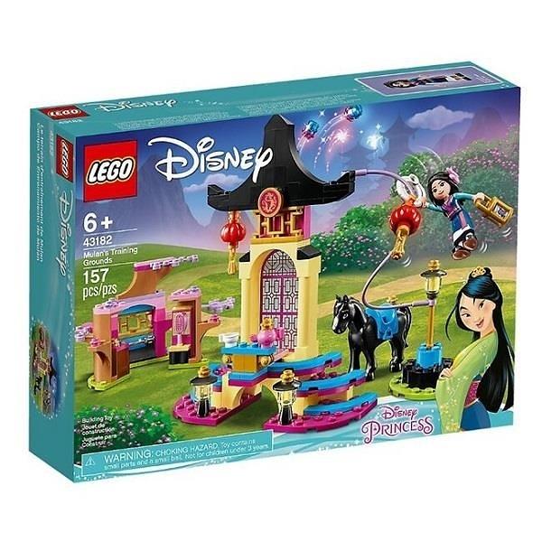 【南紡購物中心】【LEGO 樂高積木】迪士尼公主Disney系列-花木蘭Mulan s Training Grounds43182