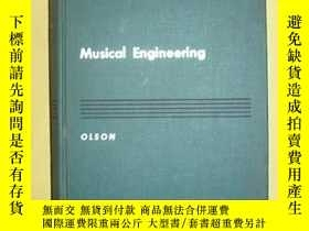 二手書博民逛書店MUSICAL罕見ENGINEERINGY25820 出版195