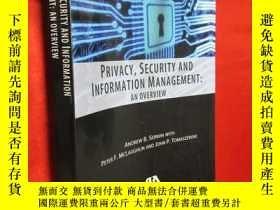 二手書博民逛書店Privacy,罕見Security and Informati